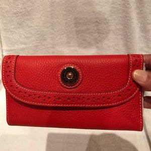 New never used Dooney & Bourke red wallet